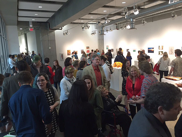 UGA Cortona 2016 Reunion Exhibition.