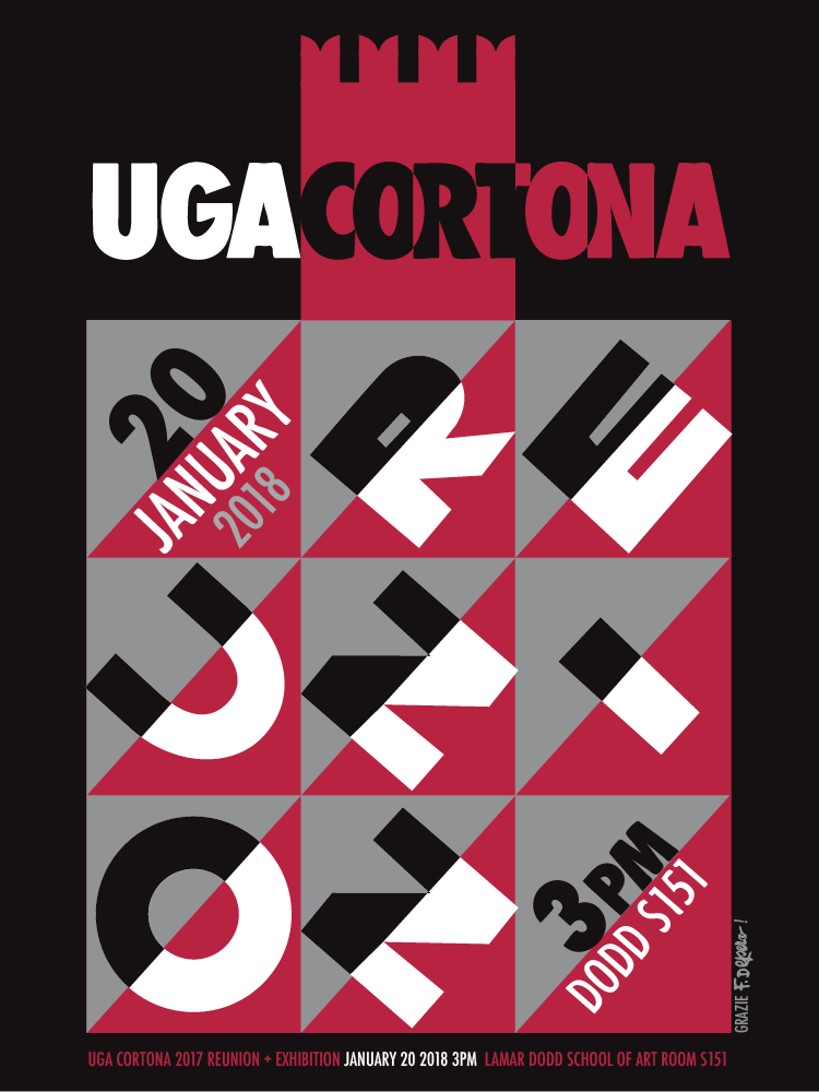 2017 UGA Cortona Reunion Exhibition