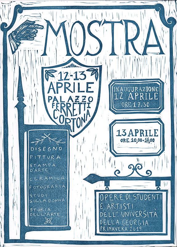 2019 Spring Mostra Poster